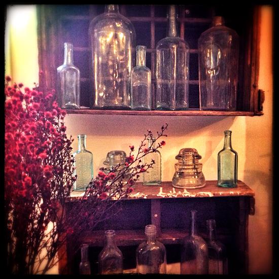 loveOttawa_VintageFloral_glassware