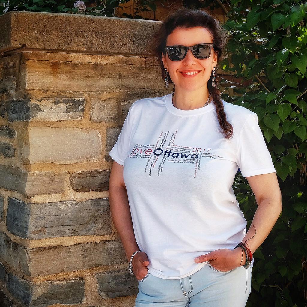 loveOttawa 2017 t-shirts